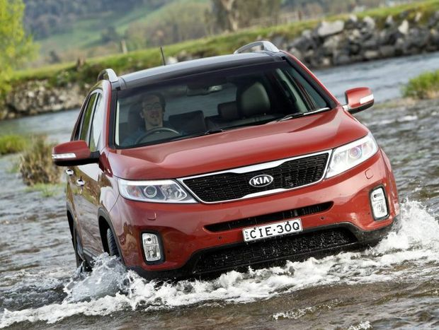 Kia's new Sorento was launched in Tasmania this week.