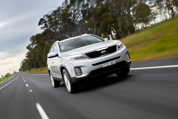 The Kia Sorento in SLi guise.