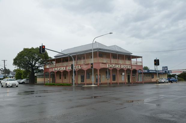 A dark cloud hangs over the future of Roma's oldest pub, the Empire Hotel, scheduled for demolition in November.