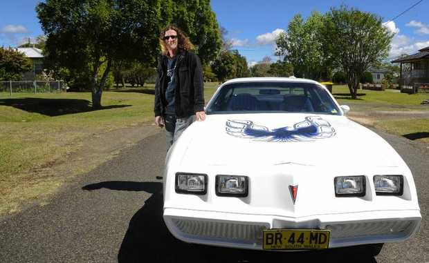 Todd Pearson, of Grafton, with his 1980 Transam Firebird which will be on display at the Show and Shine. Photo: JoJo Newby / The Daily Examiner