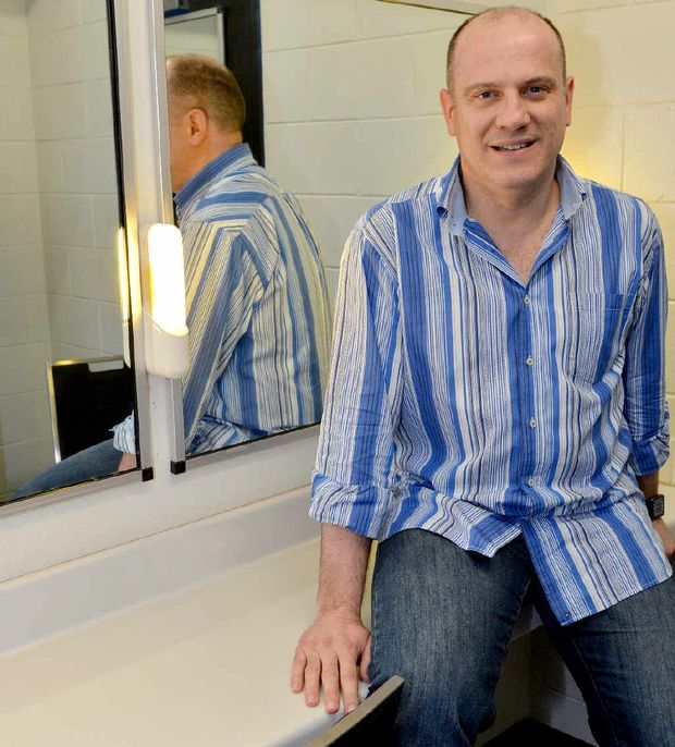 HELPUL WORDS: Mackay eisteddfod adjudicator David Wynen, who has travelled to New Zealand and America, is visiting Mackay for the second time.