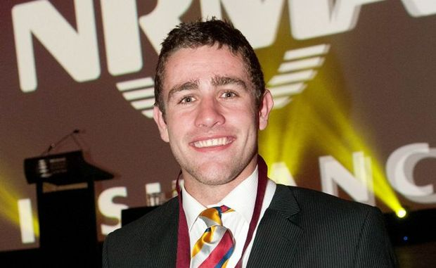 Dalby-born NRL player Andrew McCullough won the Broncos Player of the Year.