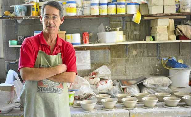 Pottery has helped David Woergoetter come to terms with and manage his mental illness.
