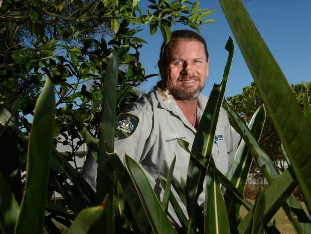 Ranger Mark Bignell. Photo: John Gass / Daily News