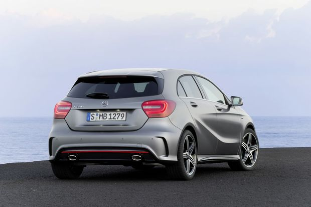 The new Mercedes-Benz A-Class will be available in three grades - A180, A200 and A250 Sport - with the entry-level A180 starting at $35,600 plus on-road costs.