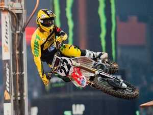 Chad Reed in action. He will race in Toowoomba next month.