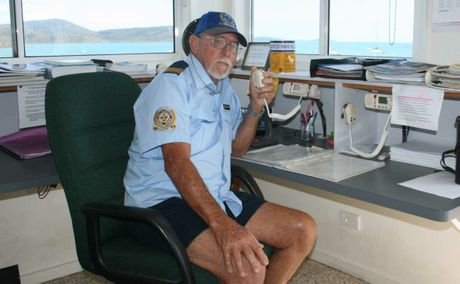 PUTTING THE CALL OUT: Whitsunday Volunteer Marine Club Rescue committee member Tom Manning is putting the call out for new members.  Photo Aimee Vinci / Whitsunday Times