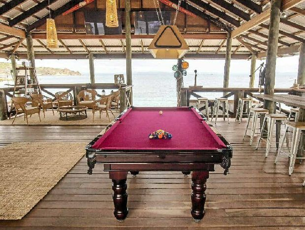 Talk about pool with a view – there's not much need to stray from the XXXX Island bar.