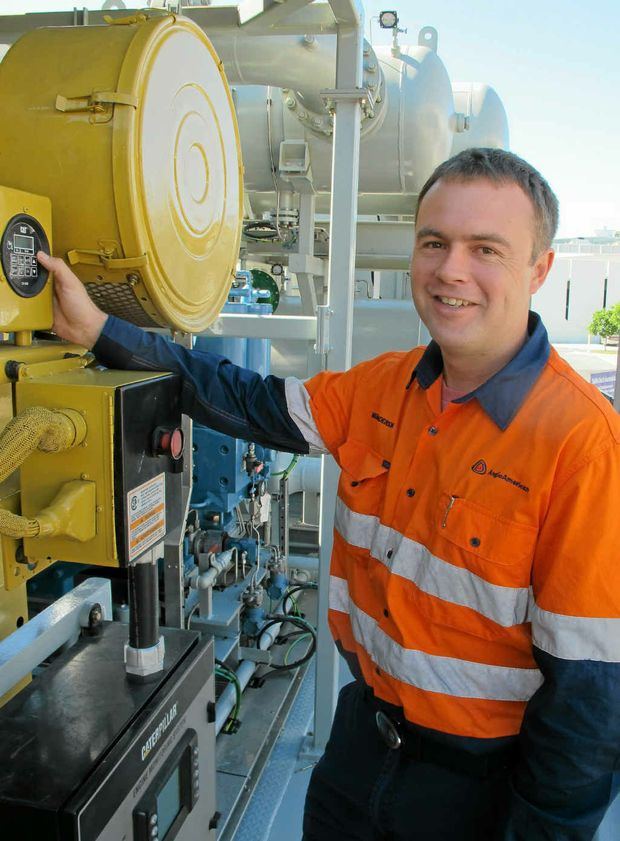 GREAT JOB: Ben Anderson has completed his trade as an electrical fitter-mechanic in less than 12 months.