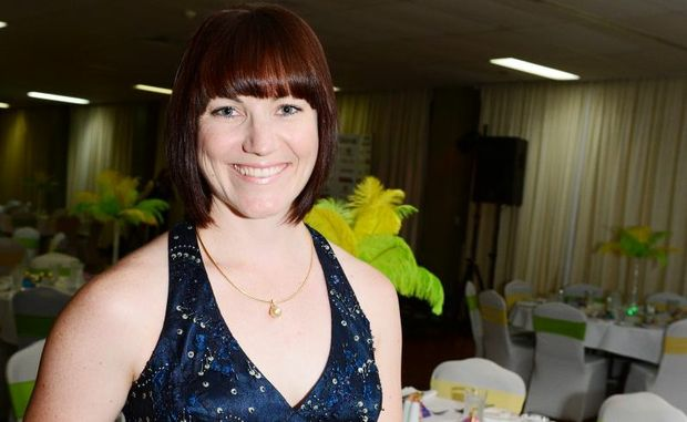 Anna Meares in Rockhampton at the Going for Gold dinner at the Leichhardt Hotel. Photo Sharyn O'Neill / The Morning Bulletin