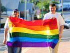 Gay man casts a rainbow