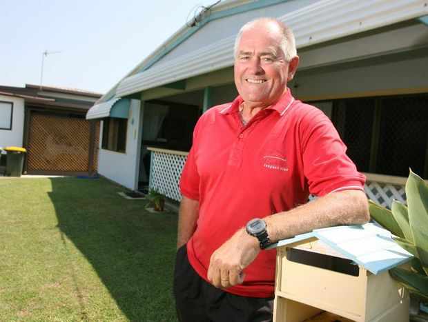 Tom O'Dea can not see how insurance companies can justify the increases in home insurance premiums. Photo: Chris Ison / The Morning Bulletin