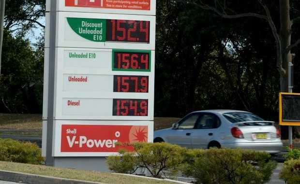 Petrol prices around the Tweed. Photo: John Gass / Daily News