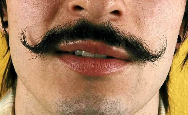 GET HAIRY: IT'S time to grow your mo' in the name of men's health.