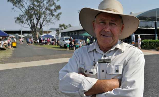 Dalby Show president Frank Chiverton, pictured at the Dalby Showgrounds, wants to welcome a new Show secretary to the fold.