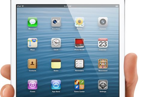 Apple has unveiled its iPad mini which it says offers 35% more screen real estate than its seven inch rivals.