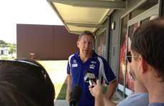North Queensland Cowboys CEO Peter Parr announces Mackay NRL pre season game.