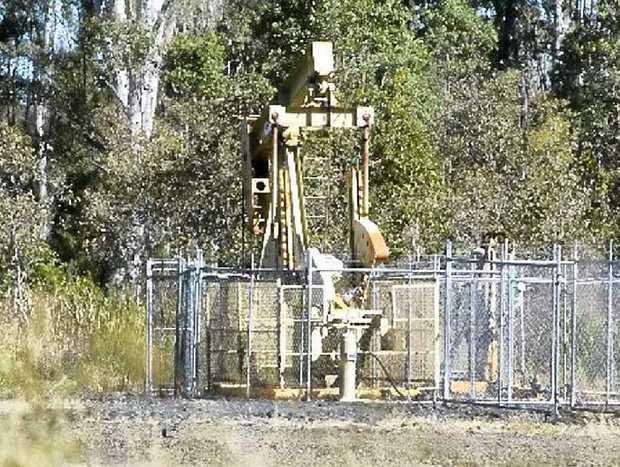 A coal seam gas well.