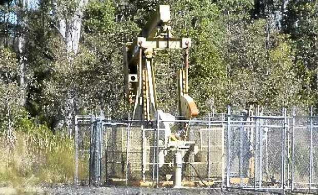 A coal seam gas well.