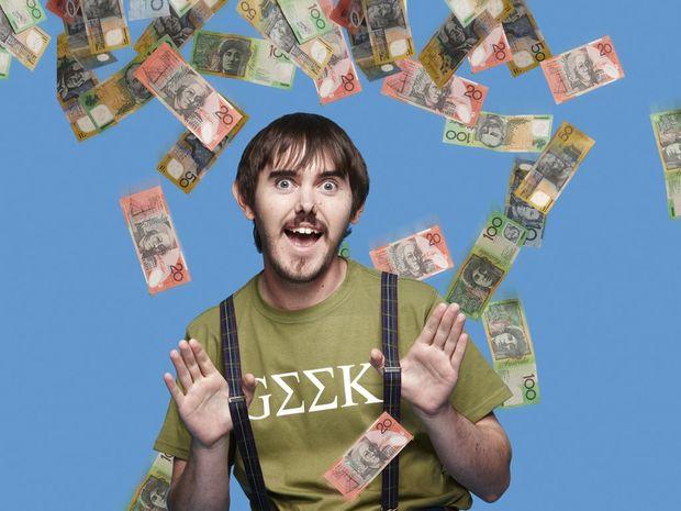 "Millionaire ""geek"" Nathan Hoad."