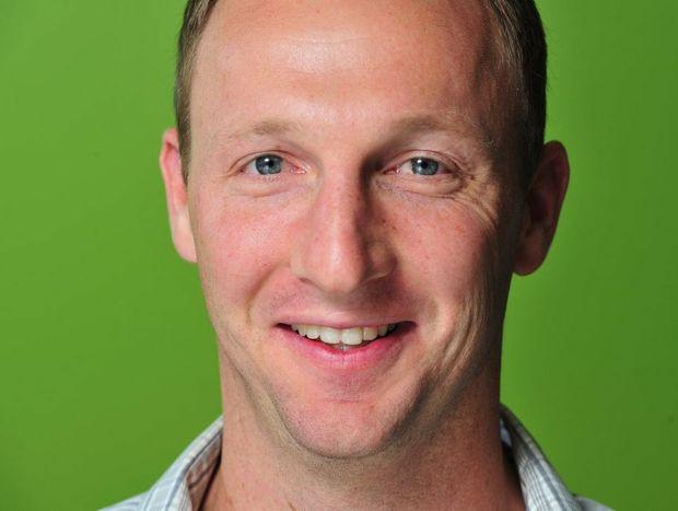 The Queensland Times reporter Andrew Korner.