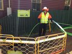 Toowoomba's first NBN fibre optic cable installed