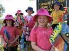 Young pupils get involved in Warwick Rodeo parade fun