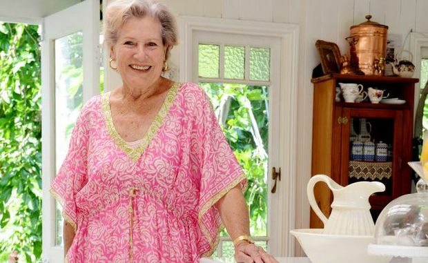 Jan Carmody at her Bangalow residence.