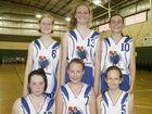 Junior Basketball, under 14 girls: Brothers Havachats vs Comets Firebirds.