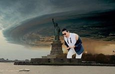 Fake Frankenstorm photos doing the rounds on the web.