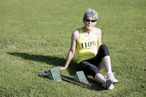 Noela Bameld will compete in the Pan Pacific Masters Games. Photo Vicki Wood / Caboolture News