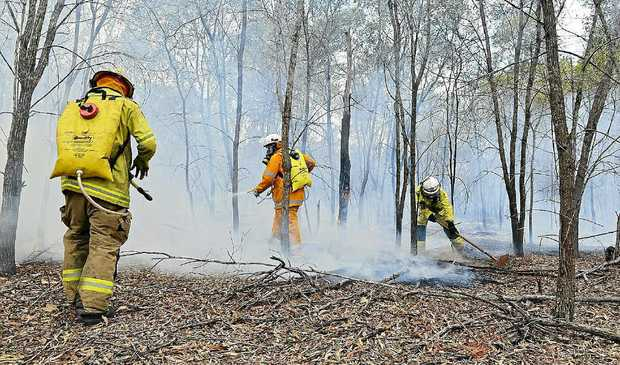 Teams of firefighters were kept busy in our region last week. They expect further call-outs.