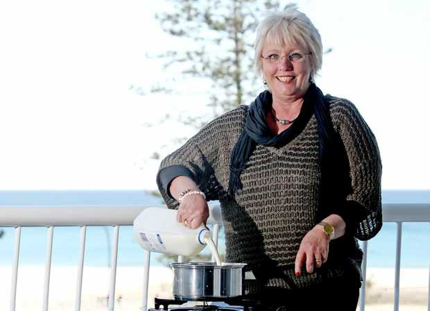 Lyndall Dykes, expert cheese maker. Photo: Blainey Woodham / Daily News