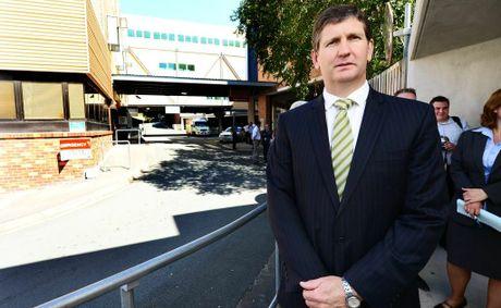 Health Minister Lawrence Springborg&#