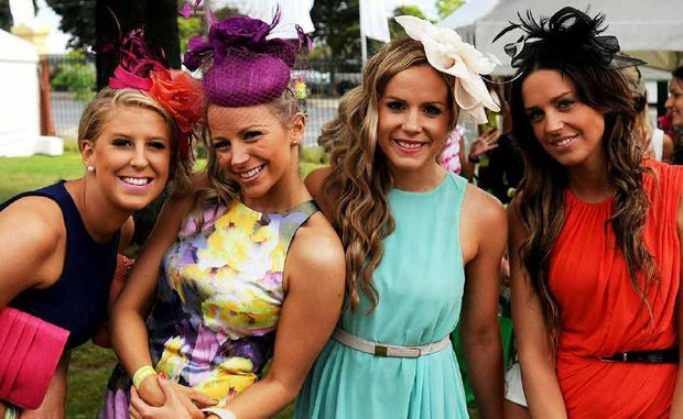 Race day calls for fashion that's conservative but fabulous ... banish all thought of garish or skimpy outfits.