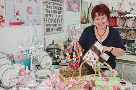 Linda Simpson looking forward to the handmade expo at the Morayfield Leisure Centre on the 2nd of December. Photo: Darryn Smith / Sunshine Coast Daily