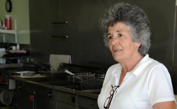 Pialba fish and chip shop owner Colleen Gamble made national headlines after she thwarted a robbery by tackling one of the masked bandits and throwing him towards a vat of hot oil.