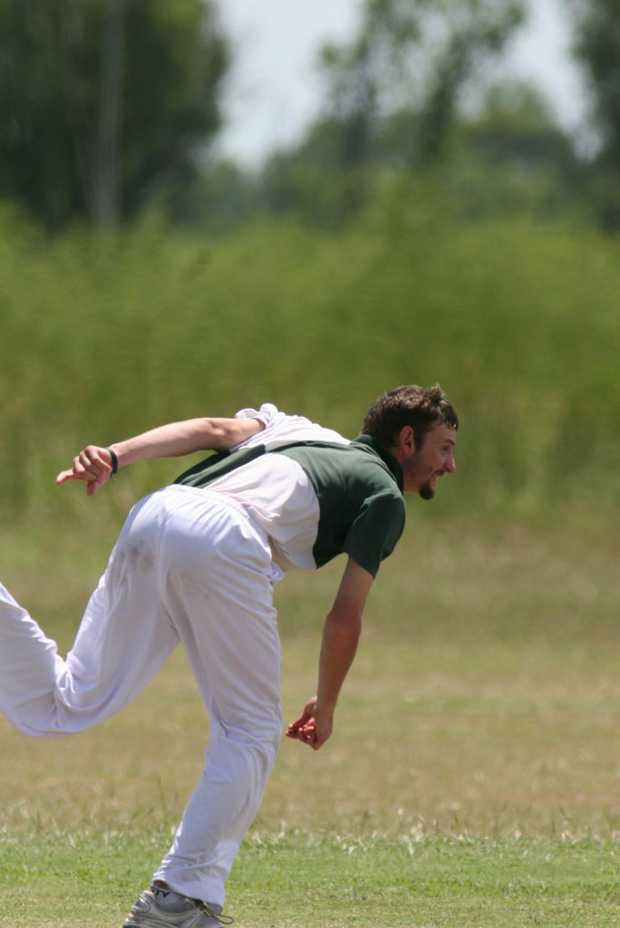 Trent Anderson's all-round skills will be needed if Callide Dawson are to push for a spot in the final of the Central Queensland Cricket Championships. Photo Cameron McCrohon / Central Telegraph