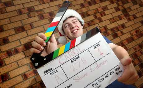 Shane Anderson will be holding a fundraiser to raise money to go towards the making of his film Carol. Photo: Inga Williams / The Reporter