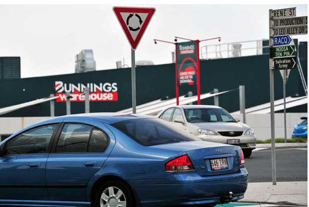 DANGER ZONE: There are calls for a pedestrian overpass in busy Eumundi Rd.