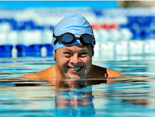 AWARD FINALIST: Down syndrome swimmer Clinton Stanley. PHOTO: GEOFF POTTER