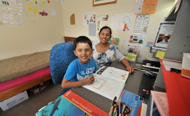 Bli Bli's Kunam Mani has chosen to home school her son, Nimai Prasad, 5.