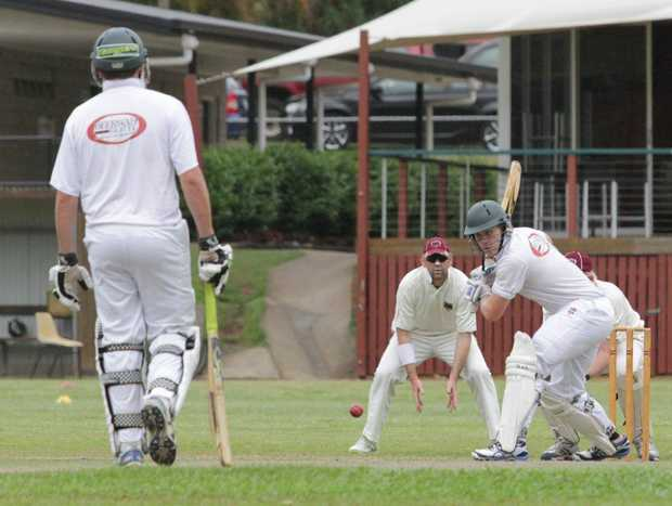 Glasshouse Rangers player Stephen Forster in a game against the Caboolture Snakes. Photo: Darryn Smith