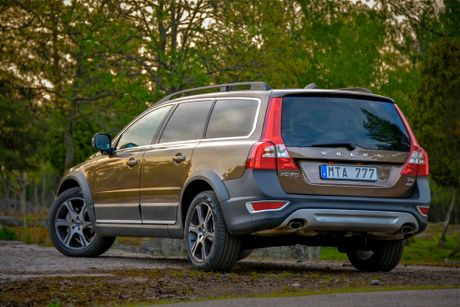 Volvo&squot;s new range-topping XC70 wagon.