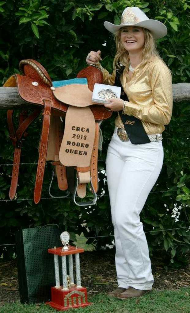 DREAM COME TRUE: 2013 Rodeo Queen Sara Malone is all smiles after reaching her life-long dream. Photo Contributed