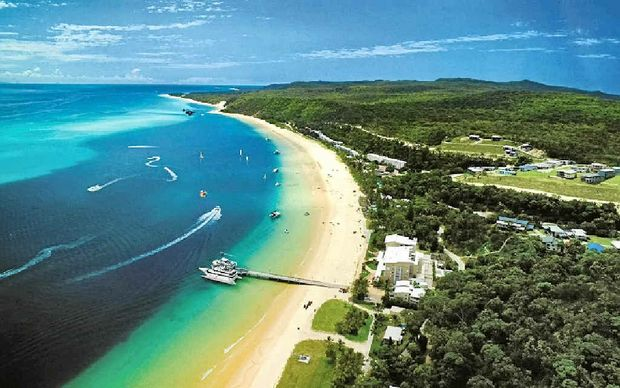 P&O; Cruises will become the first cruise line to visit Moreton Island.