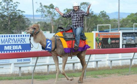 Poor Boofhead Craig Warhurst chose the slow camel on Melbourne Cup Day.