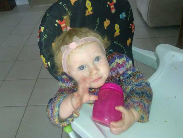 Marlee Rose Corcoran, who died on Monday, October 29 of Sudden Infant Death Syndrome. Photo: Contributed NO RESALE