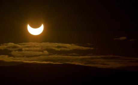A partial solar eclispe will be seen in Toowoomba skies tomorrow morning.
