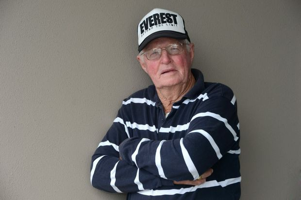 Ron Wright has a plan to save The Great Barrier Reef. Photo: John Gass / Daily News